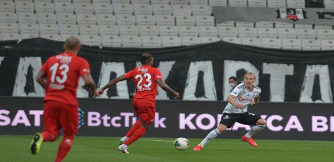 Beşiktaş Evinde Mağlup Oldu