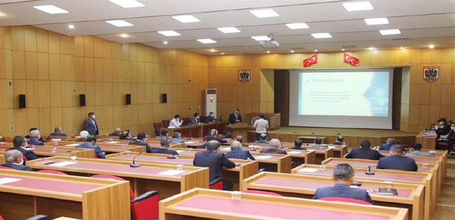İl Genel Meclisi Yeniden Toplandı
