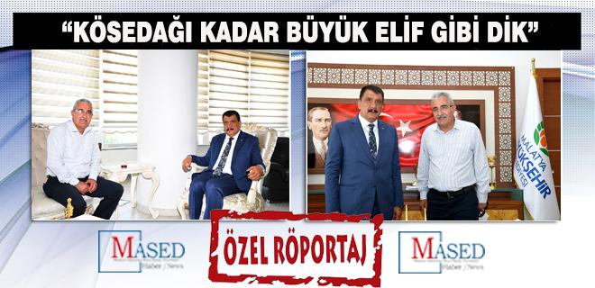 """""""Kösedağı Kadar Büyük Elif Gibi Dik"""""""
