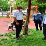 Yeşilyurt Belediyesi Park Alanlarının Düzenli Sağlıklı Ve Temiz Olması İçin Hizmetlerini Artırdı