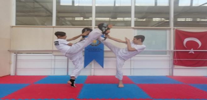 Büyükşehir'den taekwondo eğitimi