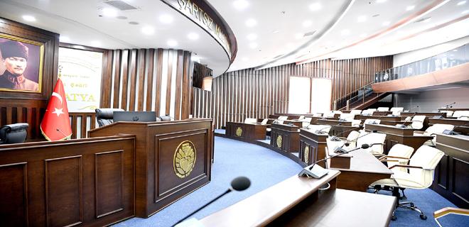 Baştan Aşağı Yenilenen Büyükşehir Belediye Meclisi Eylül Ayı  Toplantısına Hazır
