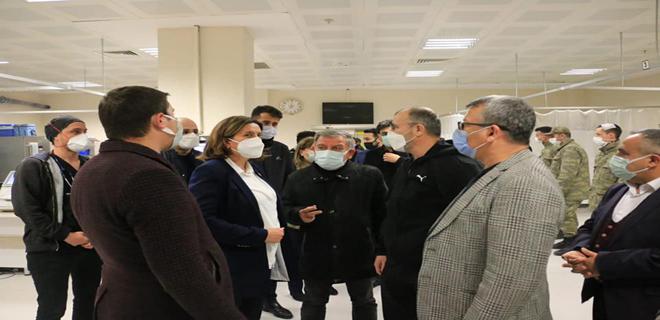 TBMM Genel Kurul Çalışmalarını bitirir bitirmez soluğu Sivas'ta aldı.