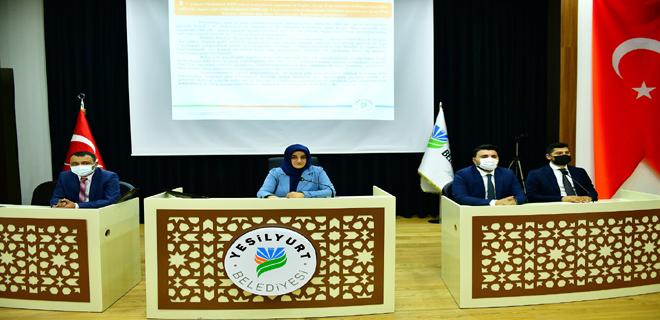 Yeşilyurt Belediye Meclisi Haziran Ayı Toplantısını Yaptı