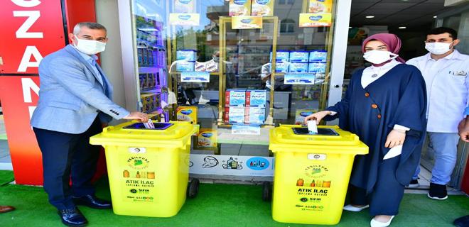 Yeşilyurt'ta Atık İlaçlar Çöpe Gitmeyecek