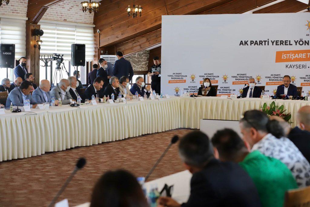 Yerel Yönetimler Başkanlığı Toplantısı