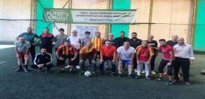 Futbolcuların Velileri, Sahada Hünerlerini Sergiledi