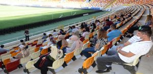 Spor Müsabakalarında Görev Alan Özel Güvenlik Personeline Verilen Eğitim.